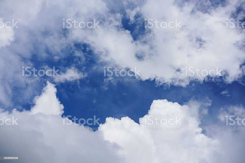 Sky clouds royalty-free stock photo