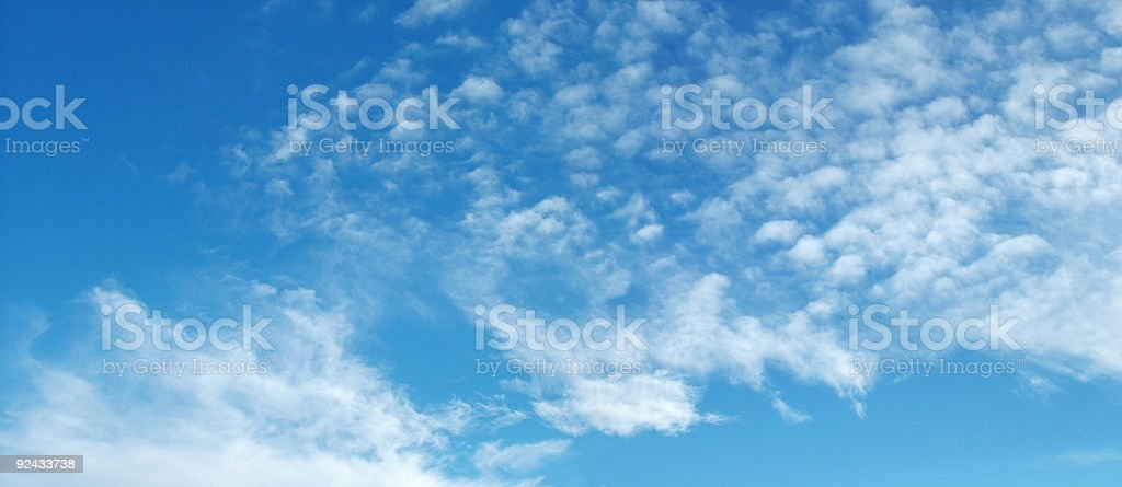 Sky & Clouds royalty-free stock photo