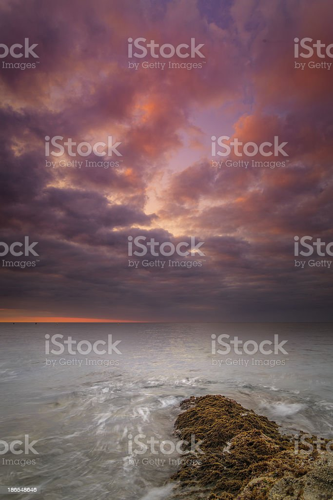 Sky colours royalty-free stock photo
