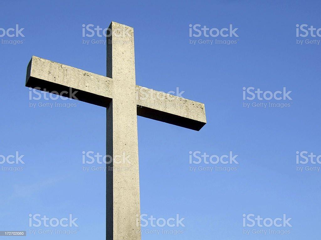 Sky Cross royalty-free stock photo