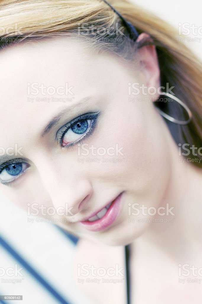 Sky Face royalty-free stock photo