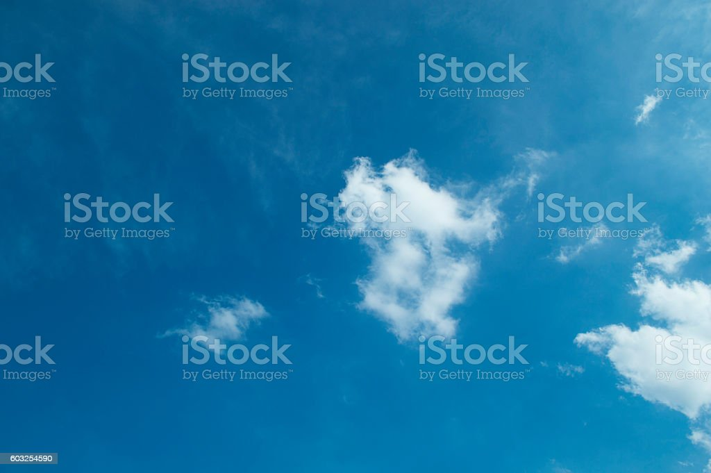 Sky , heart , blue, clouds , white , space , background , dark blue , cloud stock photo