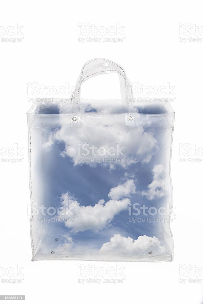 Sky In A Bag royalty-free stock photo