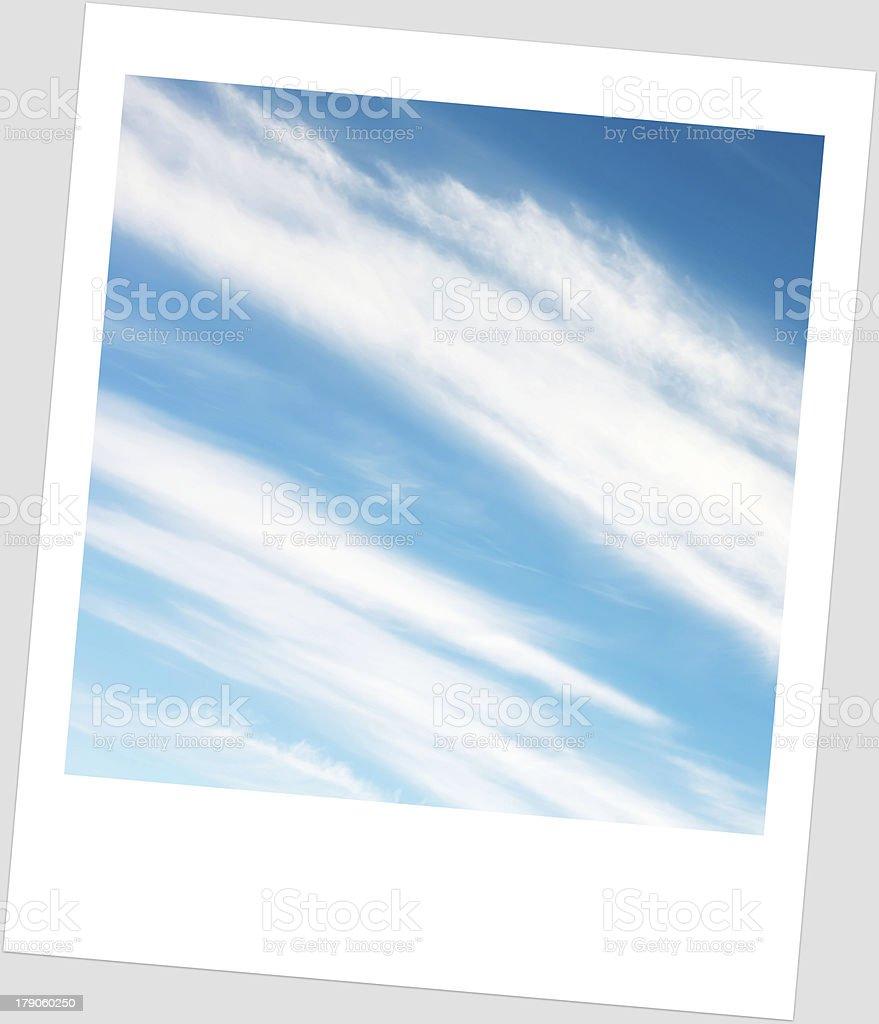 sky in frame royalty-free stock photo