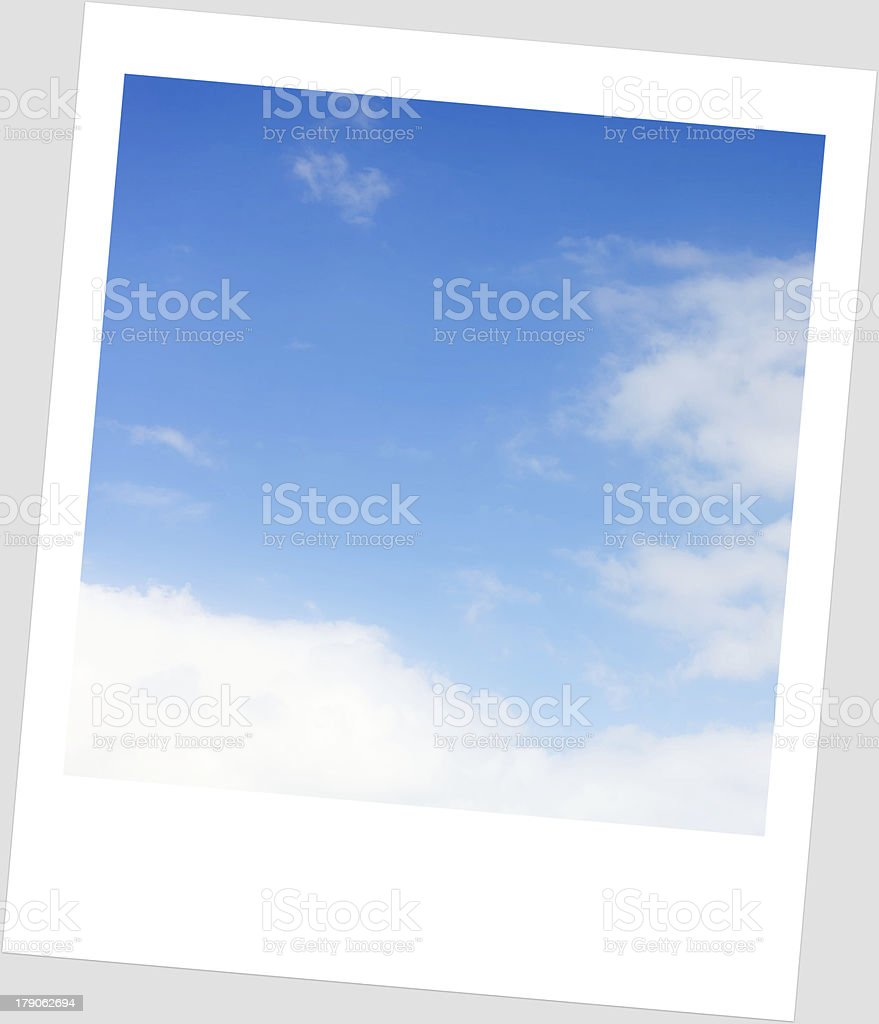 sky in frame royalty-free stock photo