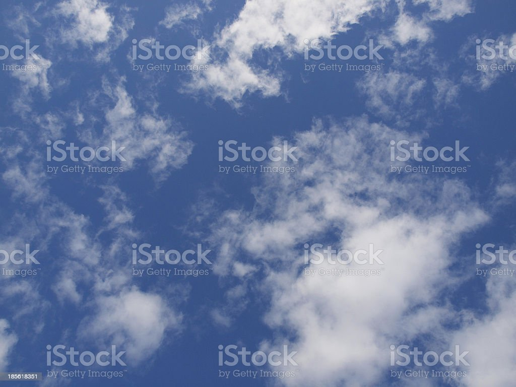 Sky in summer royalty-free stock photo