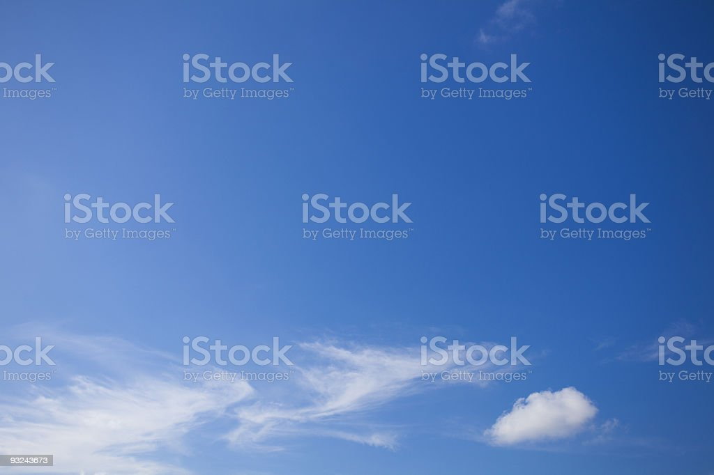 Sky in Thailand royalty-free stock photo