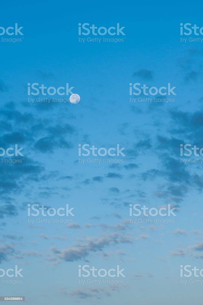 sky in the early morning stock photo
