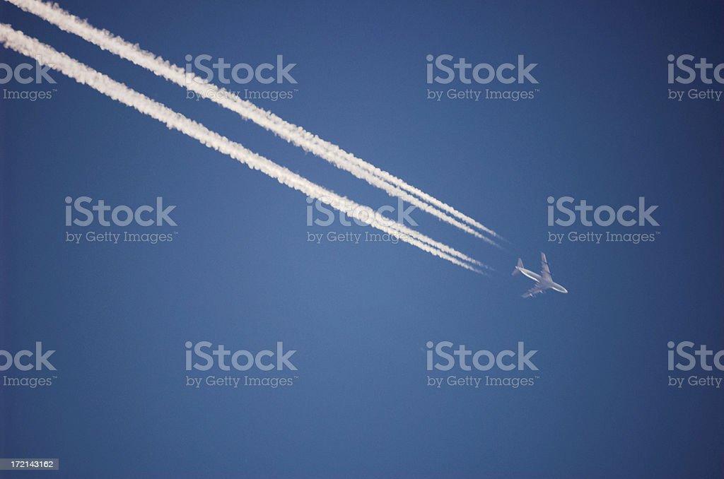 Sky Line 2 stock photo