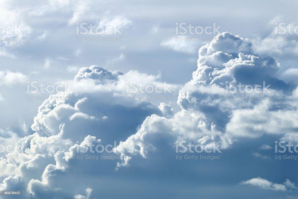 Sky mountains1 royalty-free stock photo