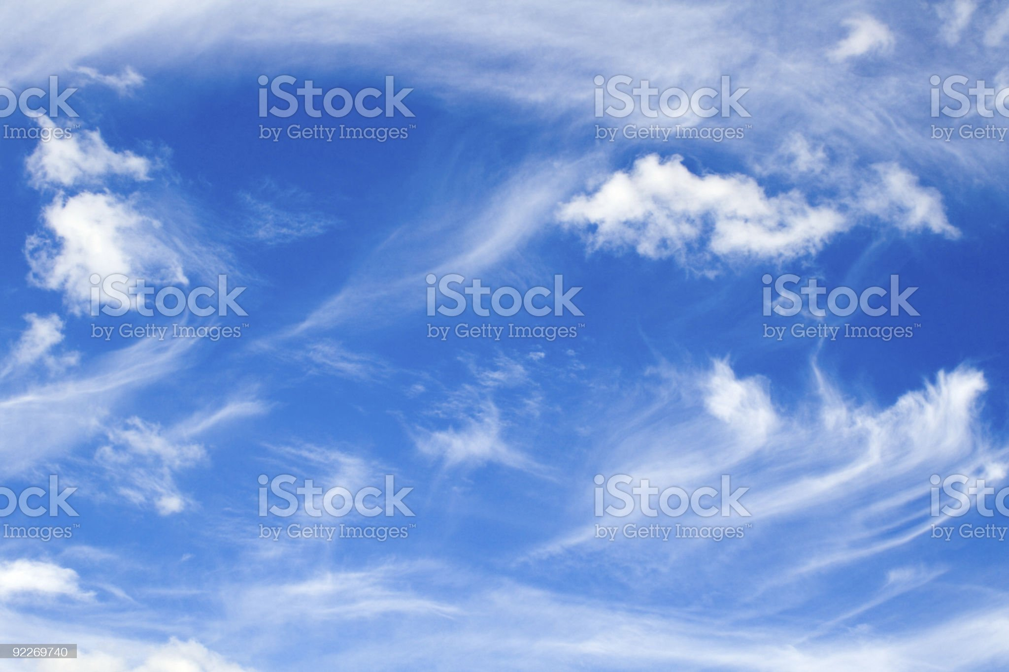 Sky oddities royalty-free stock photo