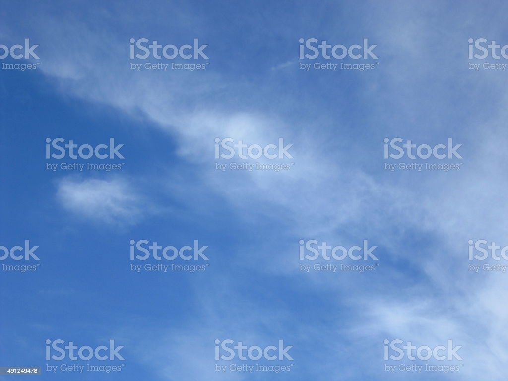 sky of blue stock photo