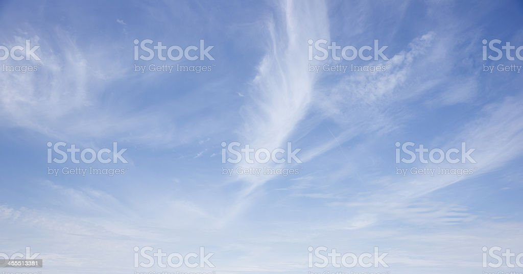 sky only dramatic background stock photo
