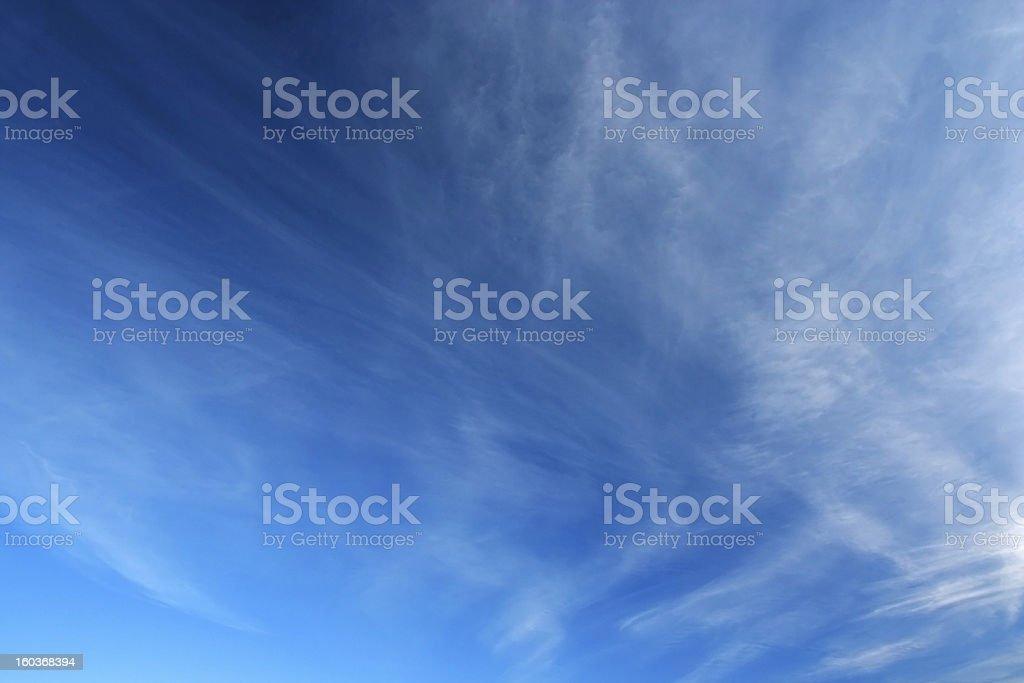 Sky over horizon. royalty-free stock photo