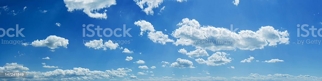 Sky panorama royalty-free stock photo