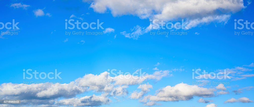 Sky Panorama stock photo