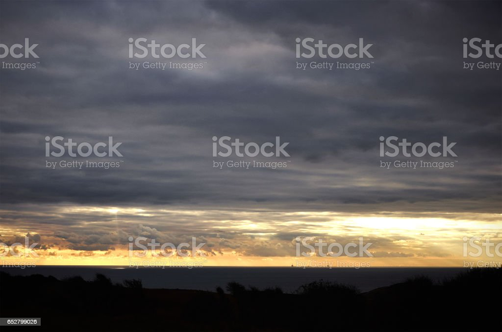 Sky phenomenon stock photo