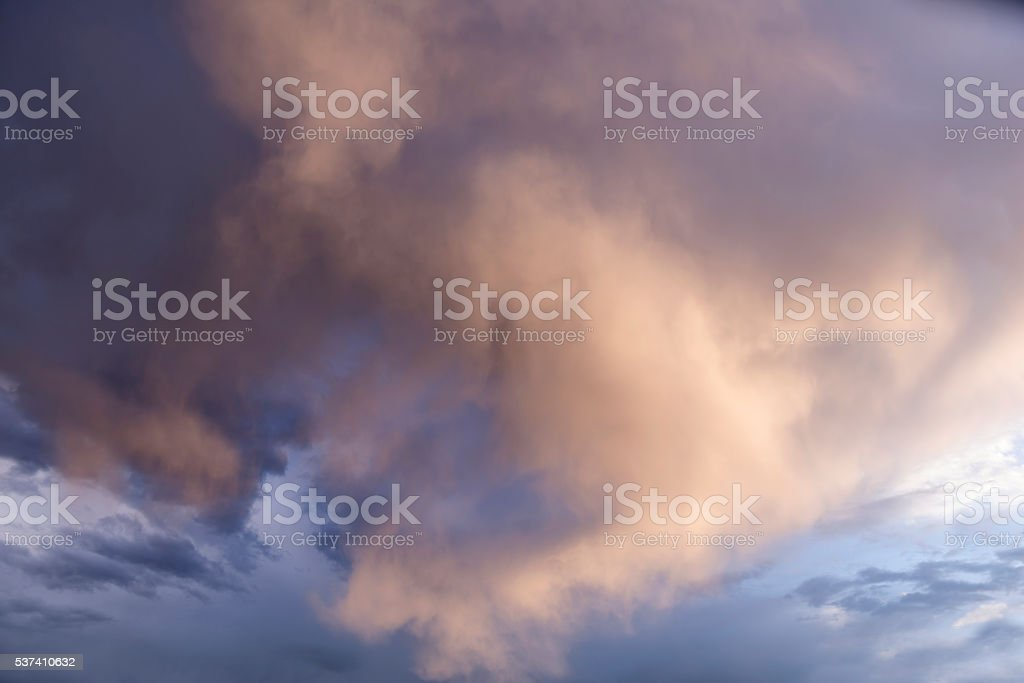 Sky Rain Storm stock photo
