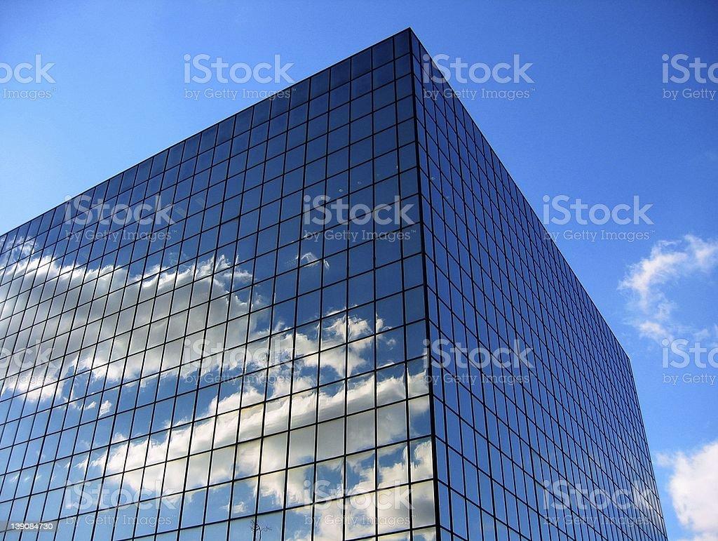 sky reflection 01 royalty-free stock photo