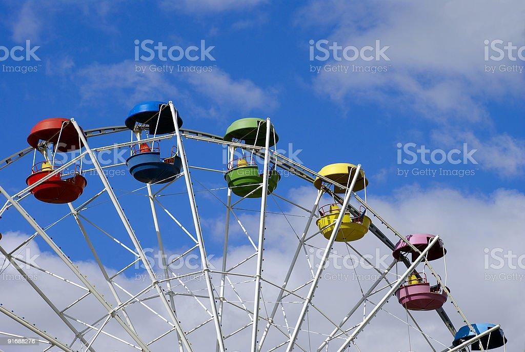 Sky ring royalty-free stock photo