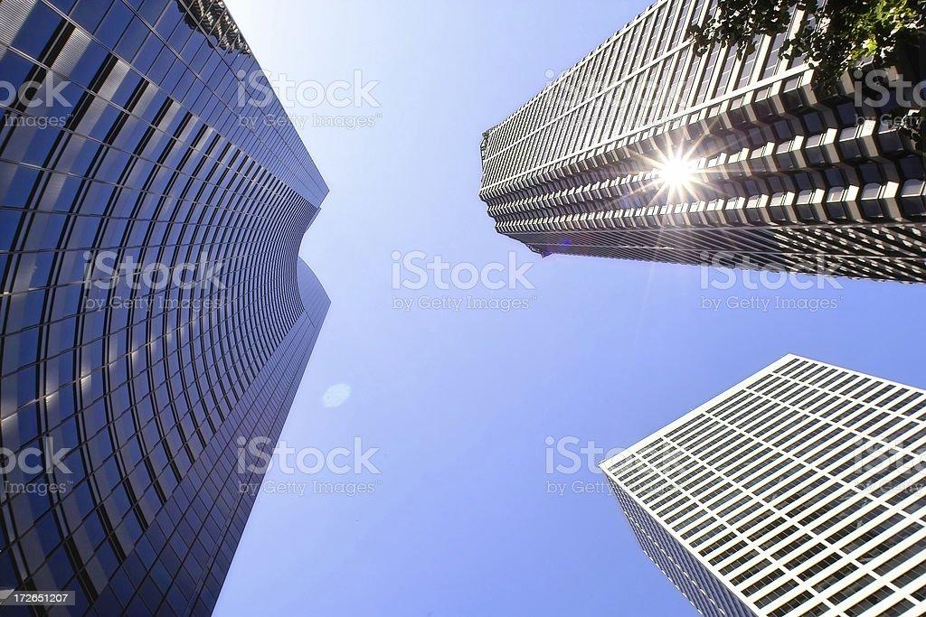 Sky Scrapers royalty-free stock photo
