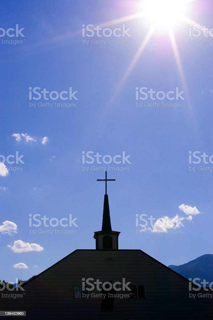 Sky Steeple royalty-free stock photo