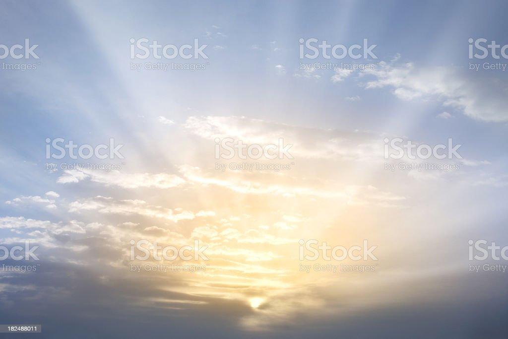 Sky. Sunrise. stock photo