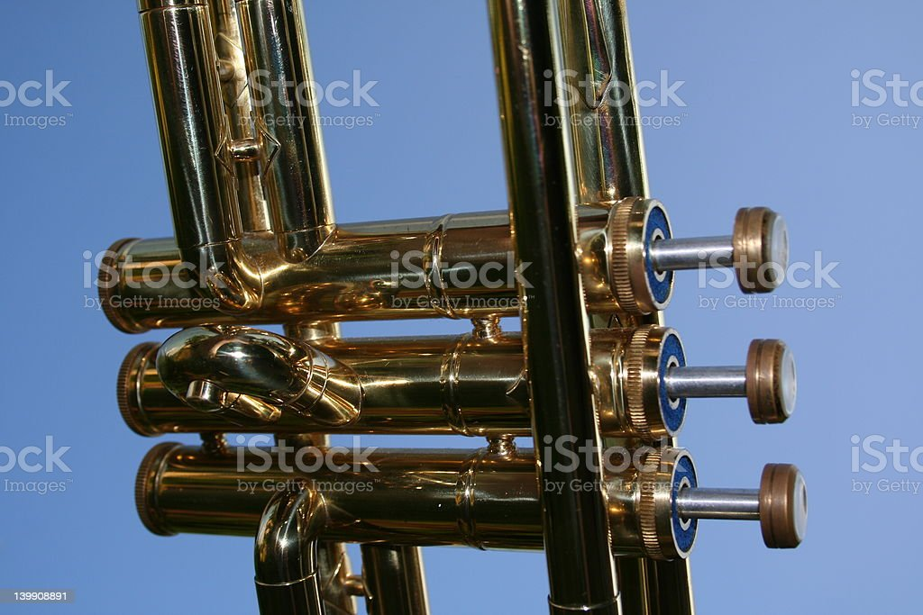 Sky Trumpet royalty-free stock photo