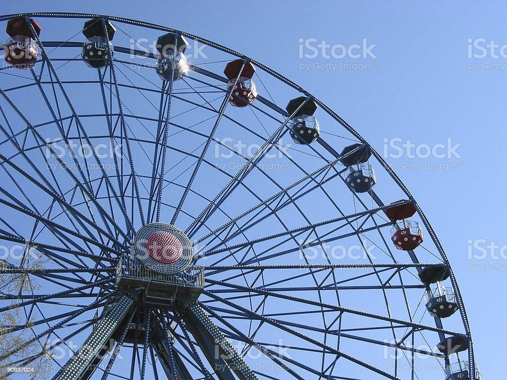 Sky Wheel royalty-free stock photo