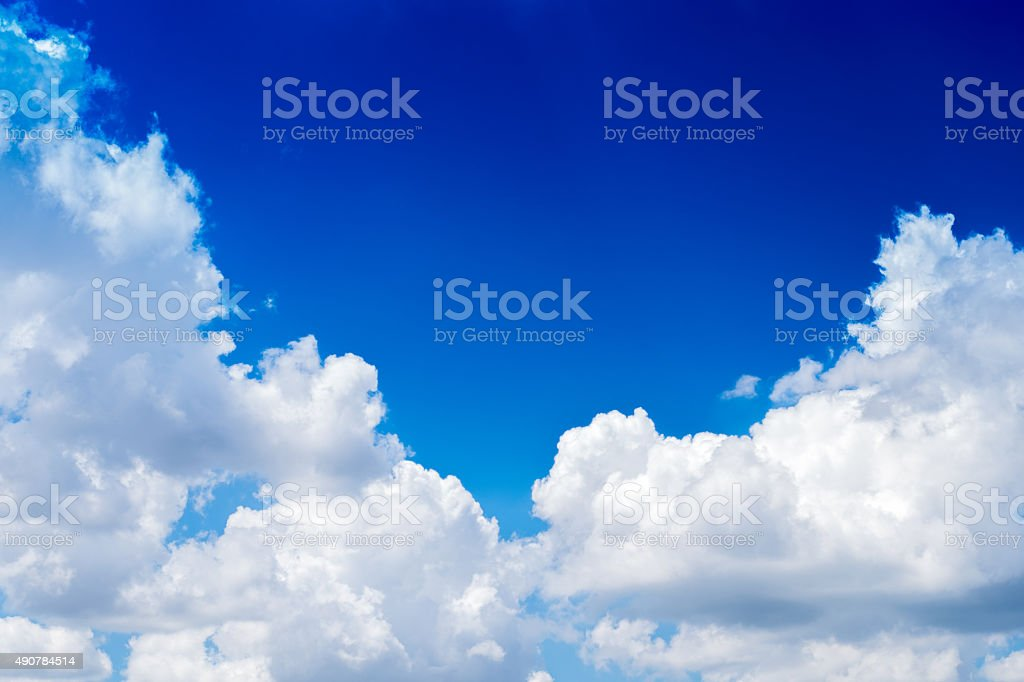 Sky with cloud stock photo