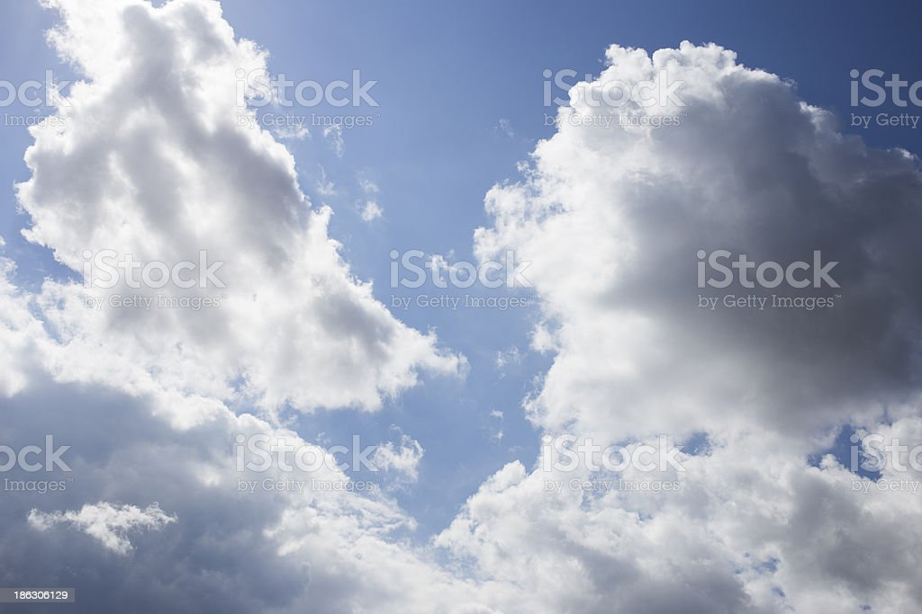 sky with clouds royalty-free stock photo