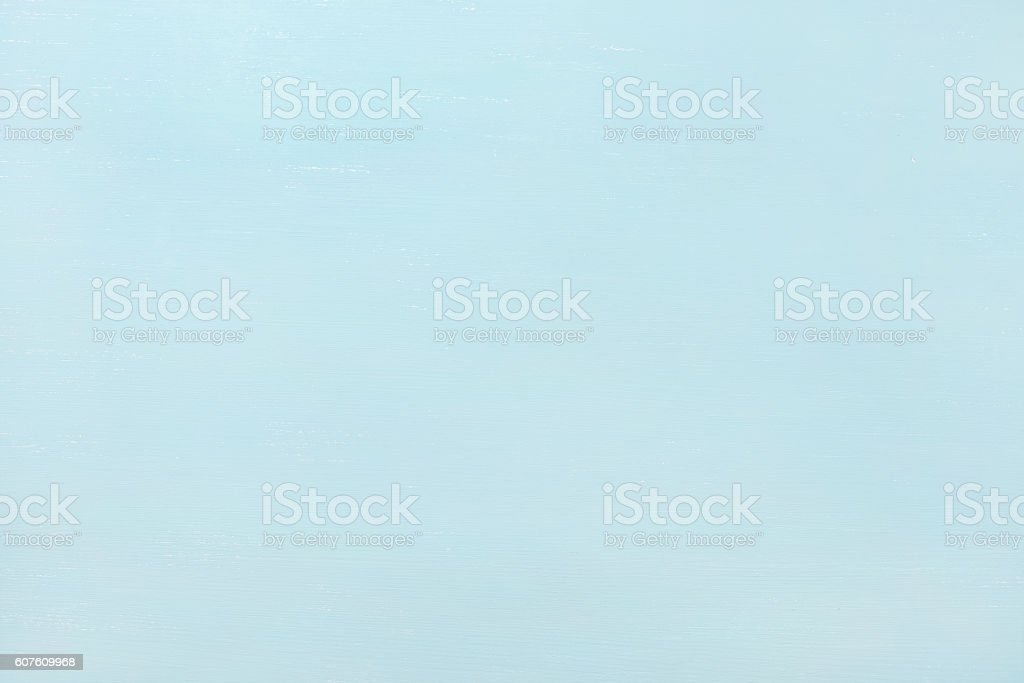 Sky-blue pastel color painted wooden texture, wallpaper, background stock photo