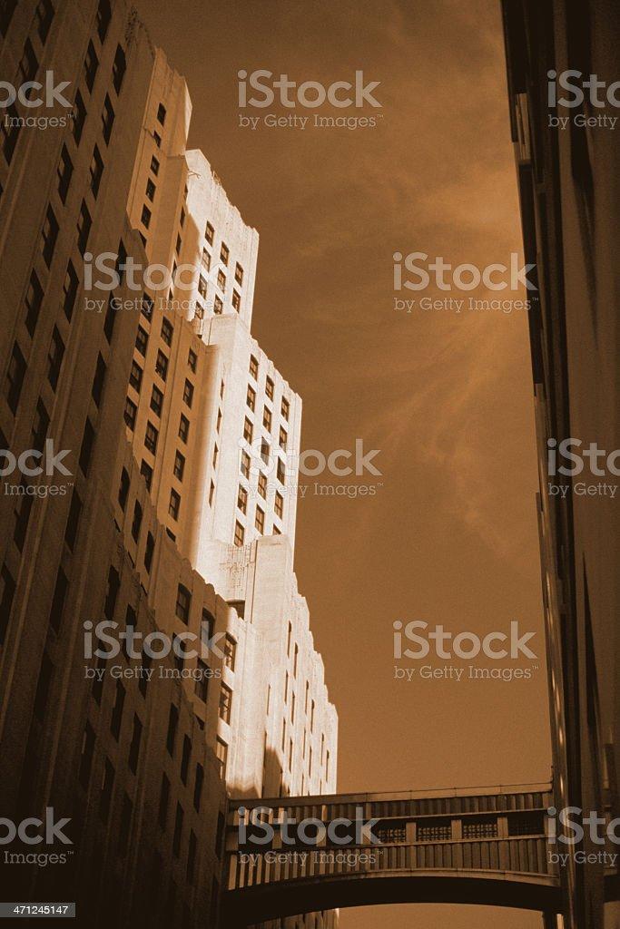 Skybridge - 11 Madison Avenue, New York stock photo