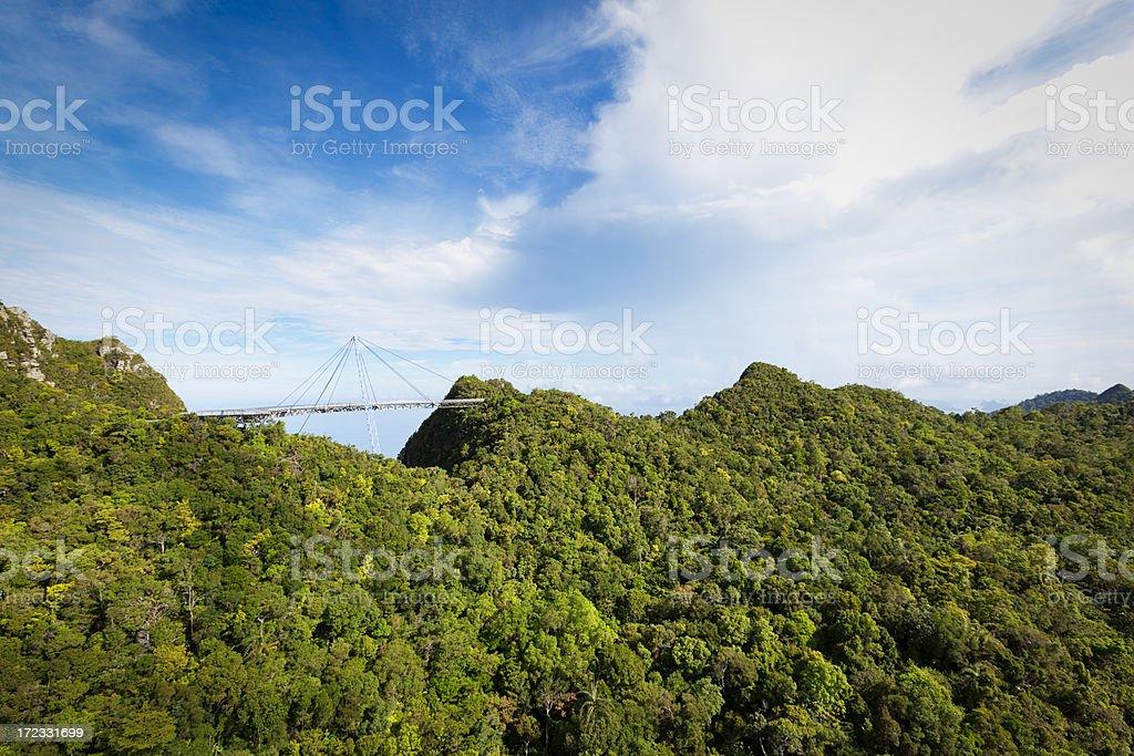 skybridge langkawi royalty-free stock photo