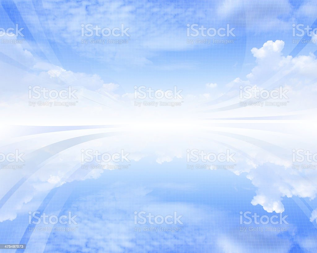 Skycape abstract background stock photo