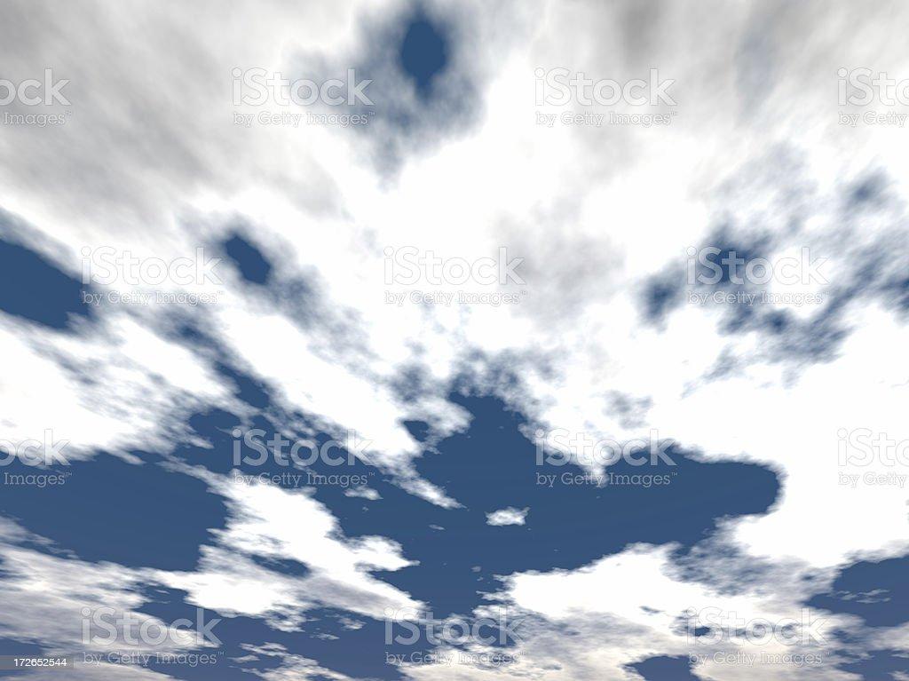 Skyclad 02 stock photo