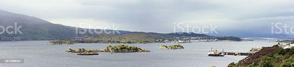 Skye Bridge royalty-free stock photo