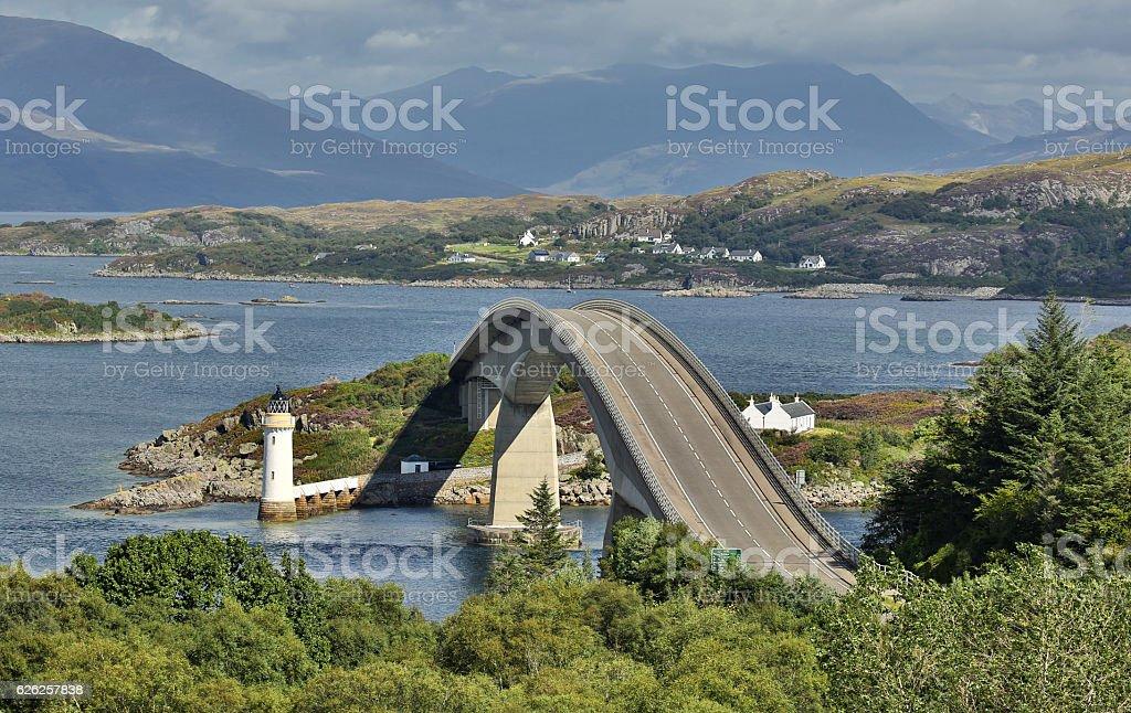 Skye Bridge (Isle of Skye, Scotland) stock photo