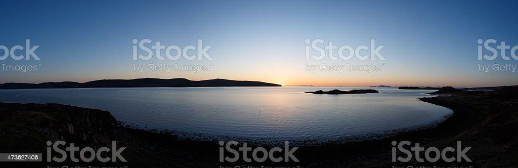 Skye en Gloaming foto de stock libre de derechos