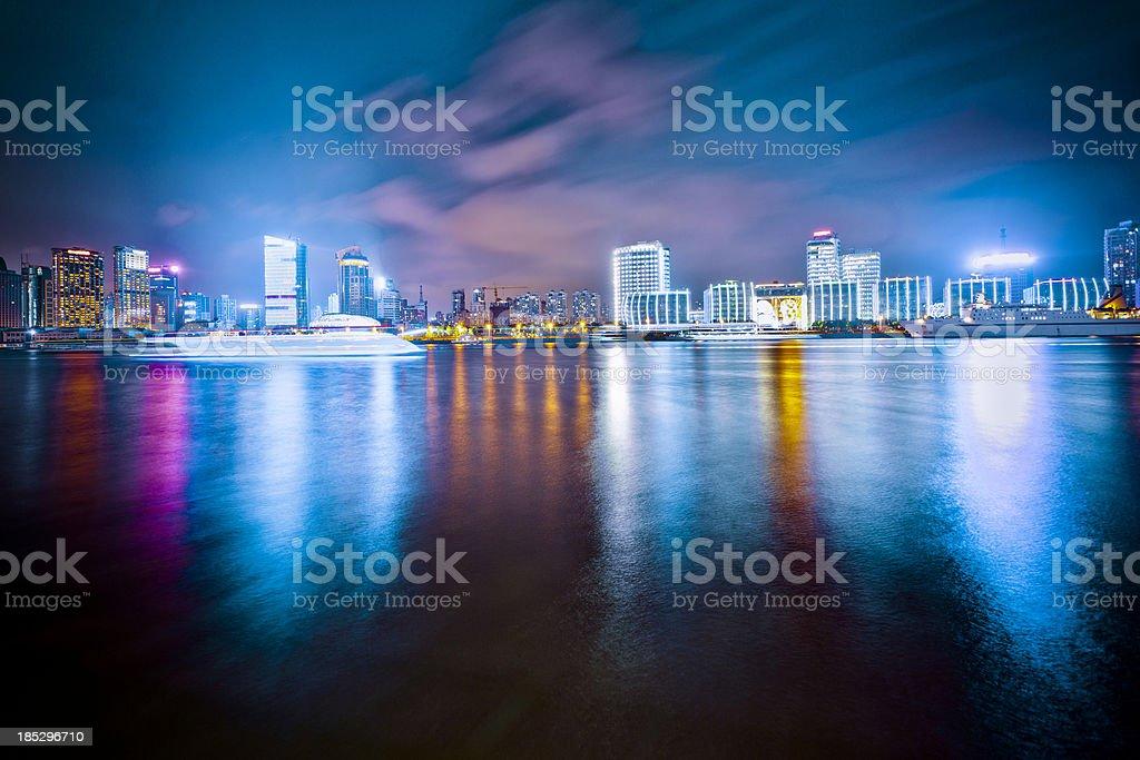 skyine of shanghai china royalty-free stock photo
