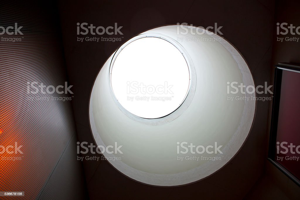 Skylight stock photo