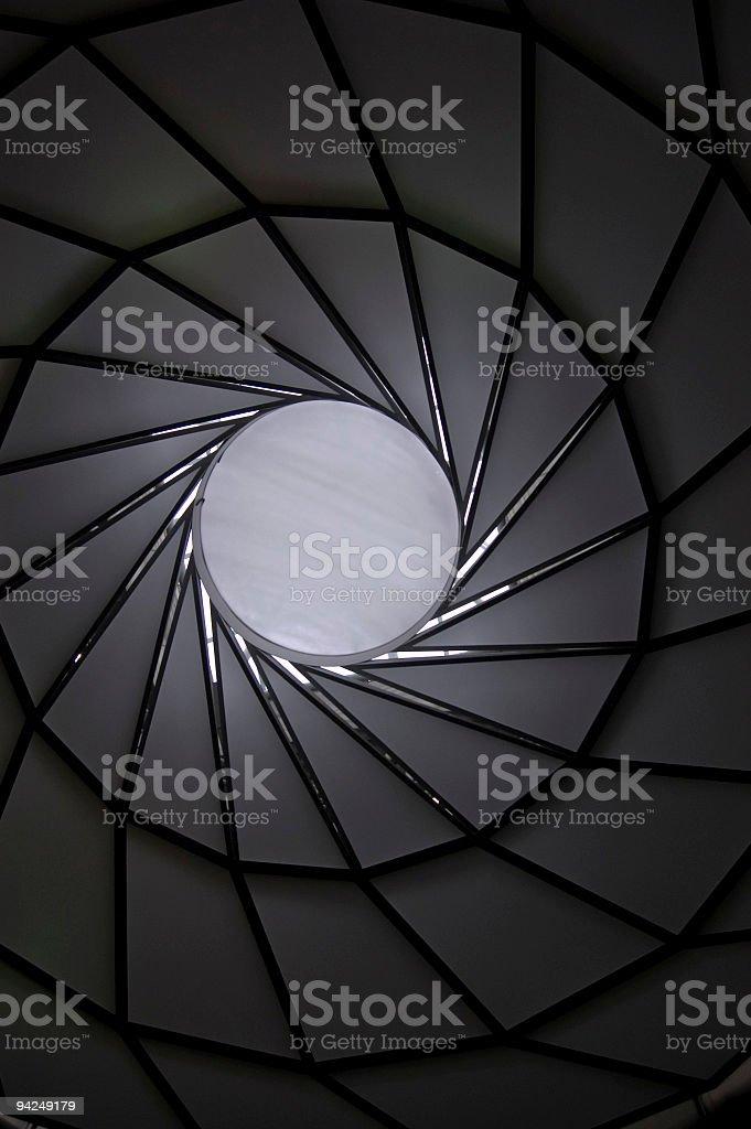 Skylight royalty-free stock photo