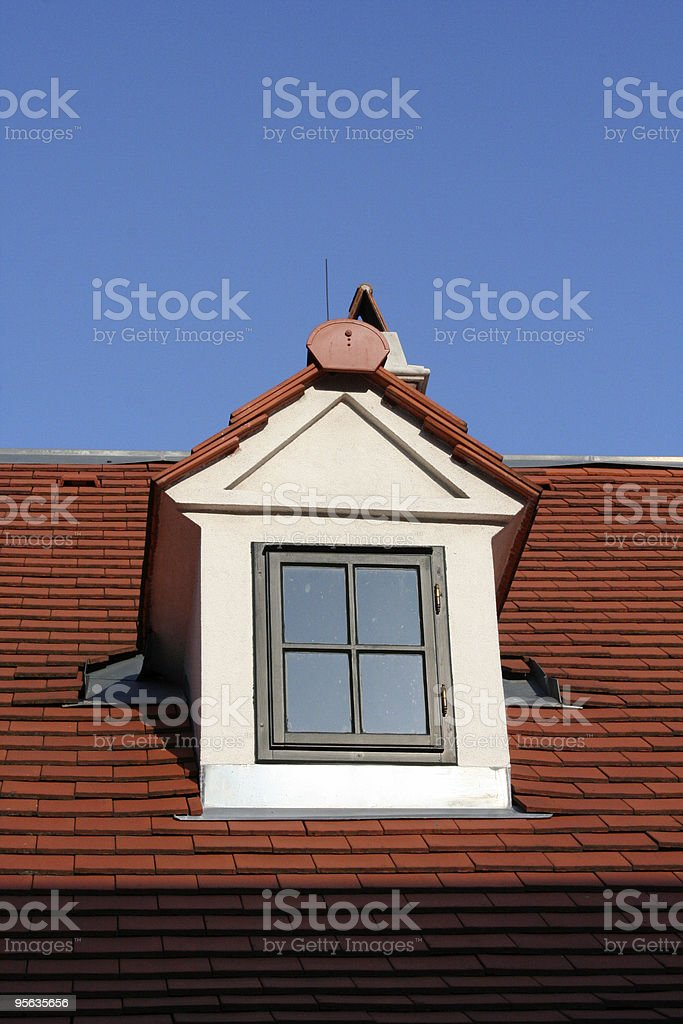Dachfenster royalty-free stock photo