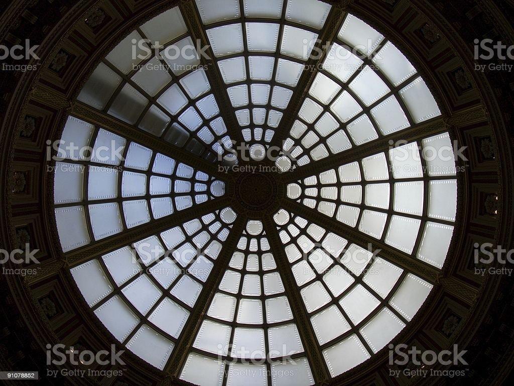 Skylight Silhouette royalty-free stock photo