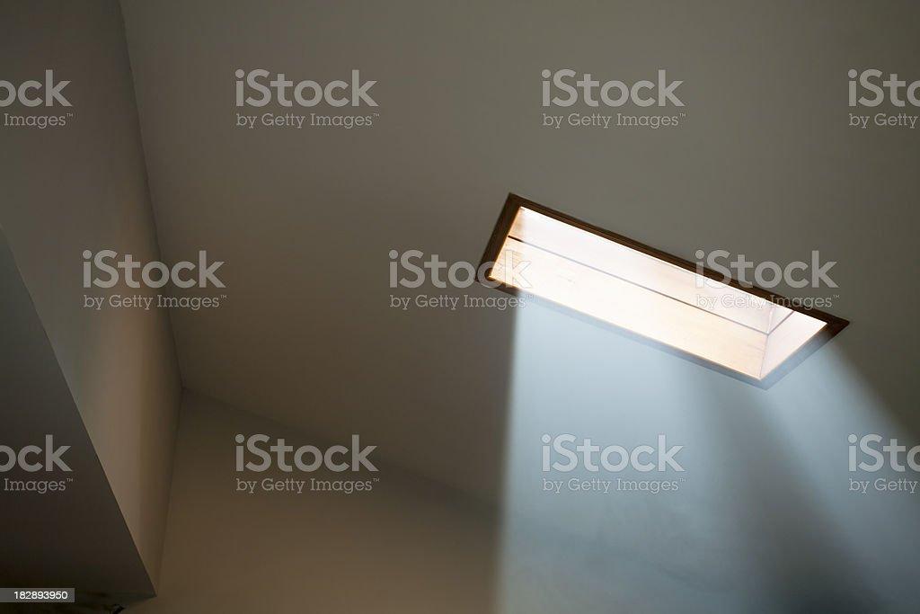 Skylight Sunbeam stock photo