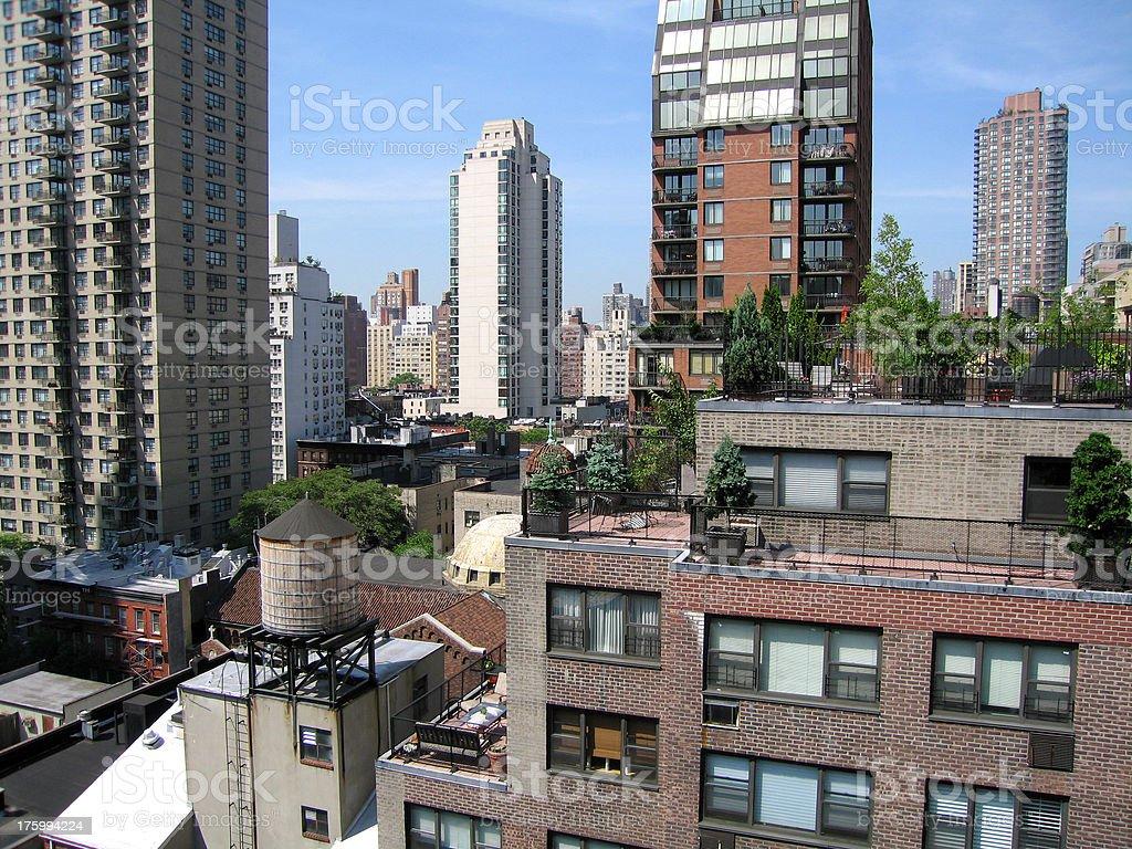 NYC Skyline 2 royalty-free stock photo