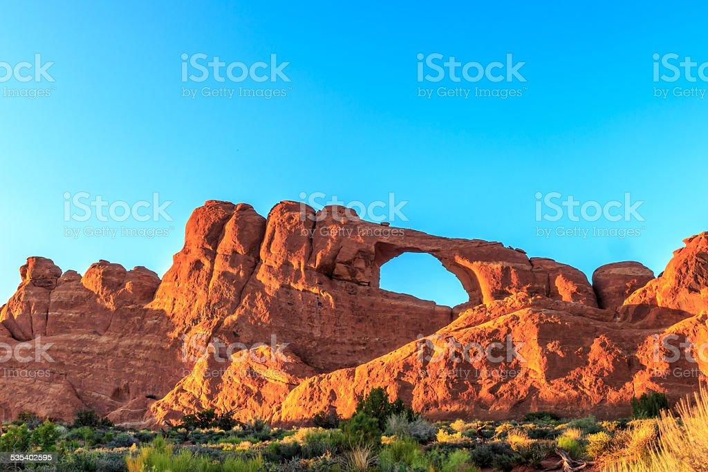 Skyline Arch stock photo