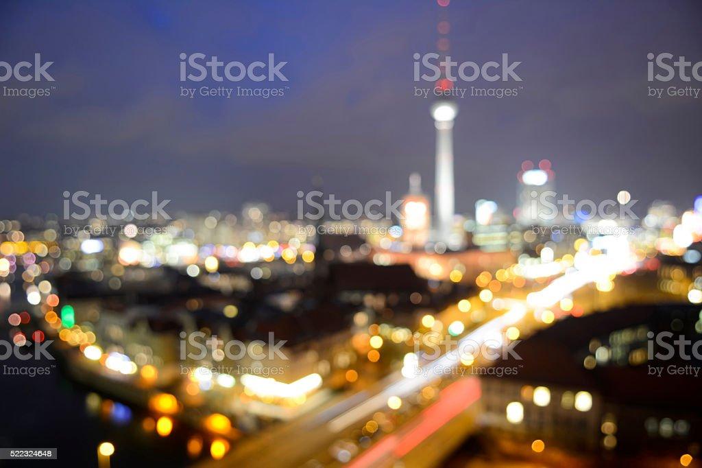 skyline berlin stock photo