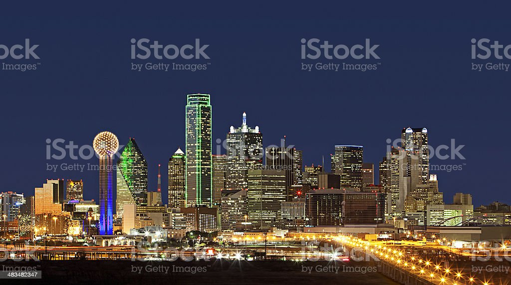 Skyline - Dallas, Texas royalty-free stock photo