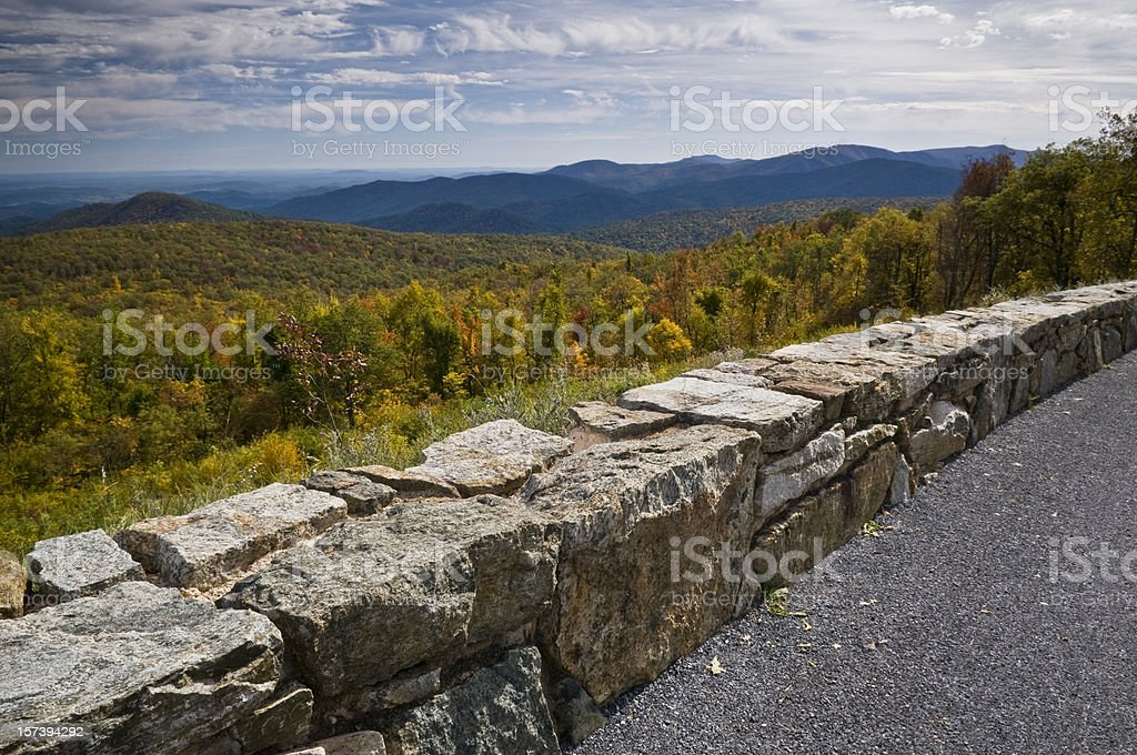 Skyline Drive royalty-free stock photo